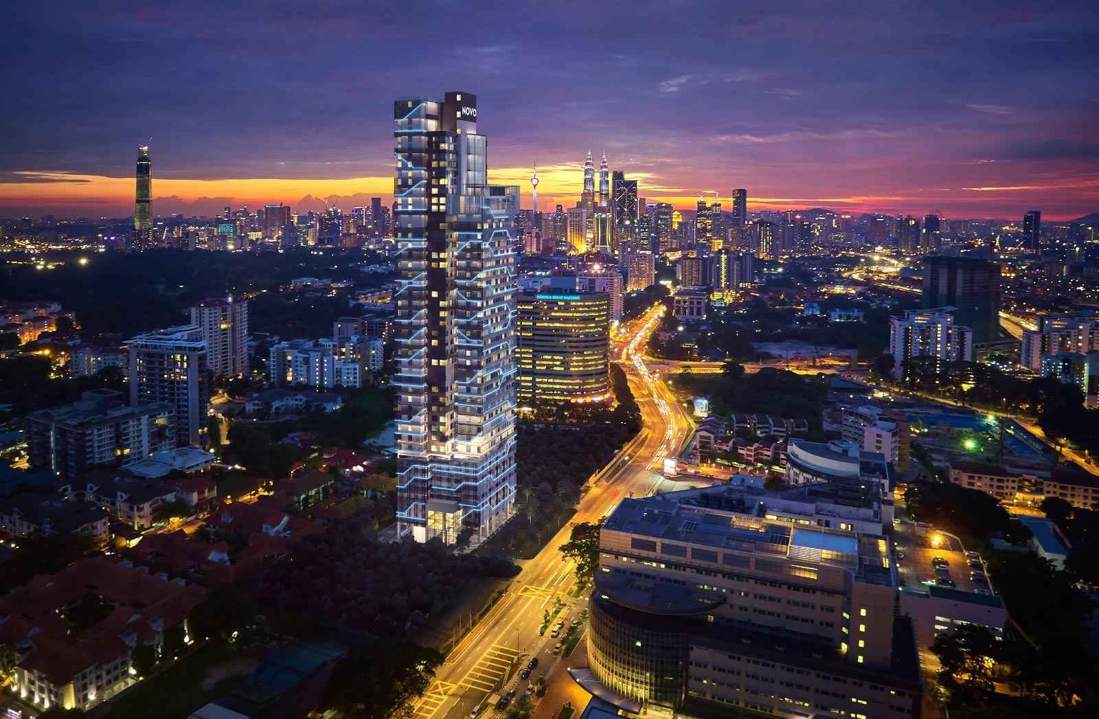 【マレーシア】首都クアラルンプールの一等地!大使館通りの最新コンドミニアム