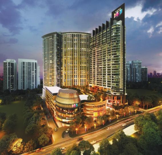 【マレーシア】高級住宅街「モントキアラ」エリアの中心地