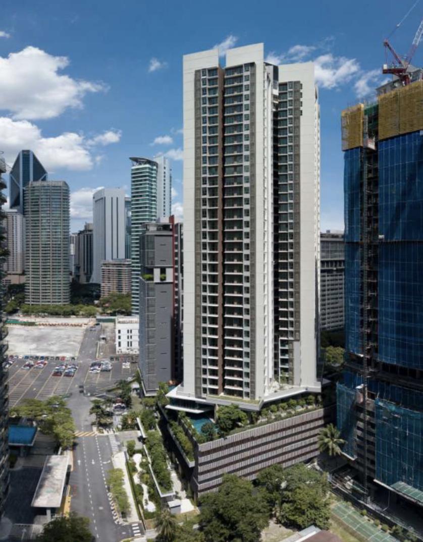 【マレーシア】クアラルンプールの中心地!トイレはTOTO!日本企業の共同開発で洗練された空間が実現