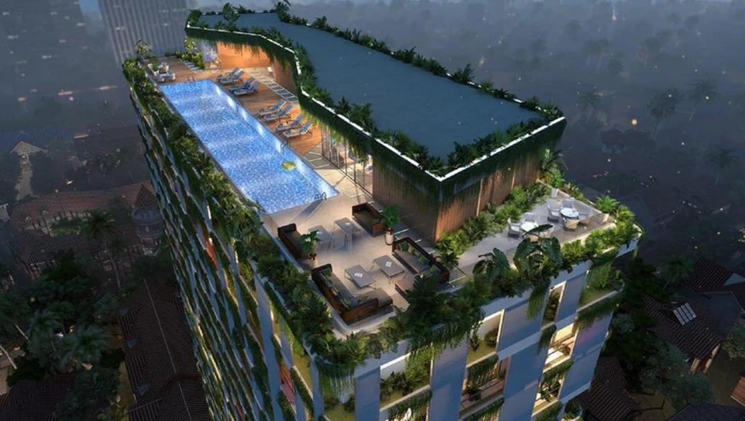 【カンボジア】投資に最適!プノンペンの高級住宅街に建設中のコンドミニアム