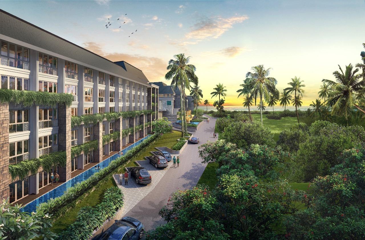 【インドネシア】バリ島のマリオットホテル 高収益保証付き物件