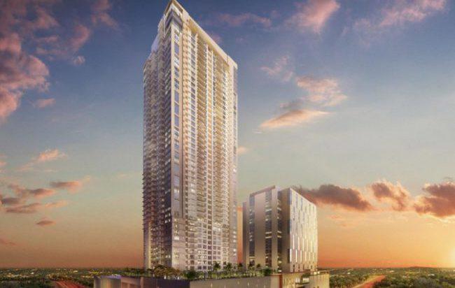 【フィリピン】最も注目を集める近未来都市「ボニファシオ・グローバルシティ」の大手企業の本社ビル等が建ち並ぶメイン通りに面した好ロケーション